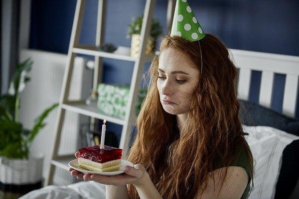 Verjaardag verpest door narcist